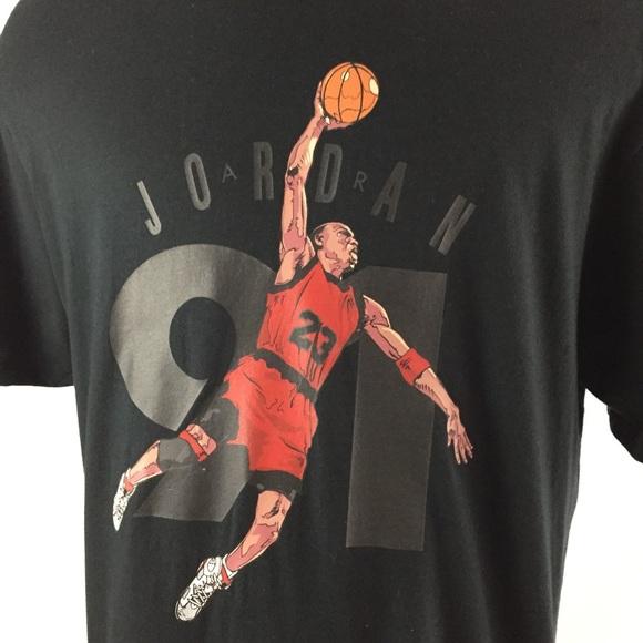 68c635b20e8 Jordan Shirts | Nike Air Jumpman 91 Mens Xl T Shirt | Poshmark